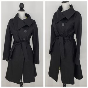 Soïa & Kyo All Weather Asymmetrical Trench Coat